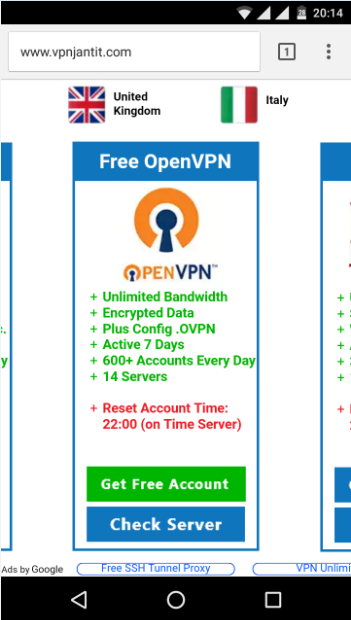 How To Use OpenVPN In Android Smartphone - VPN JANTIT