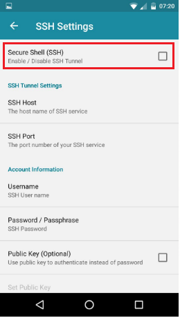 How To Tunneling SSH on Android - VPN JANTIT